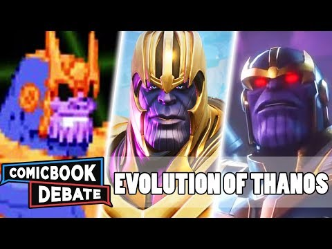 Evolution of Thanos in Games in 12 Minutes (2019) - 동영상