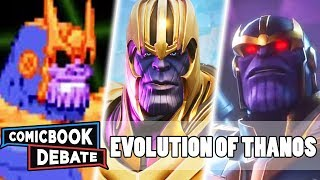 Evolution of Thanos in Games in 12 Minutes (2019)