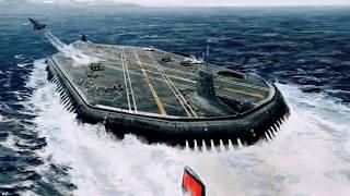 Первый подводный Авианосец России «Проект 941 бис»