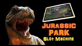 ► NEW JURASSIC PARK SLOT MACHINE!  Jurassic Park Slot Machine Bonus! (DProxima)