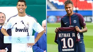 Top 20 Most Expensive Transfers Of All Time