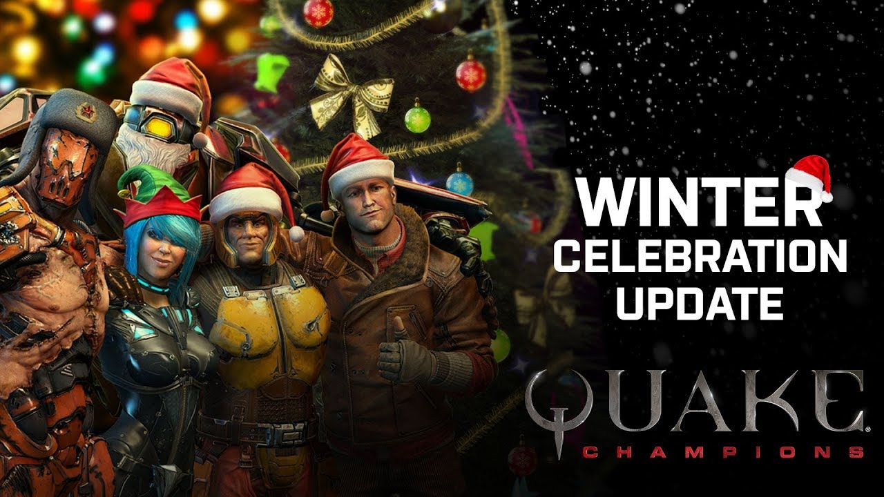 Quake Champions – Winter Celebration Update