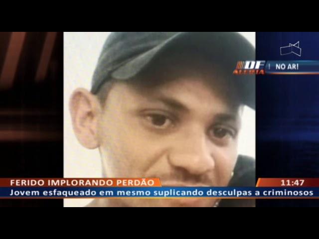 DF ALERTA - Rapaz é esfaqueado após defender namorada de abusos