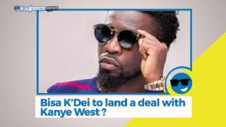 vuclip Bisa Kdei Lands New Deal With Kanye West? || Kuulpeeps News