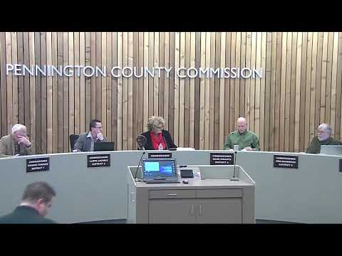 12-19-2017 Pennington County Board of Commissioners Meeting