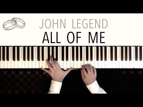 All Of Me Wedding  - John Legend  Paul Hankinson Piano Cover