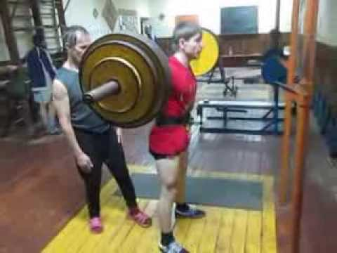 присед 140 кг на 2 Алексей Субботин