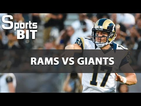 Sports BIT | Rams vs Giants Betting Preview | 2nd London Game Of The Year