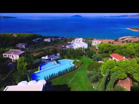 Luxury Villa for Rent in Greece, Peloponnese, Kilada - Villa No. 10 Seafront Villas Greece
