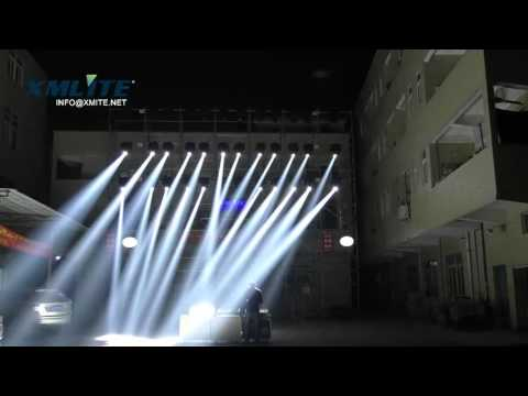 Xmlite 440W Moving head Beam and 3 in 1 outside show