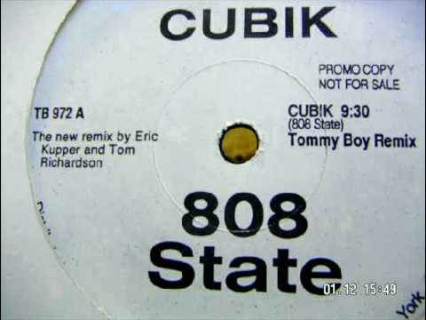 808 STATE  Cubik tommy boy remix WHITE LABEL