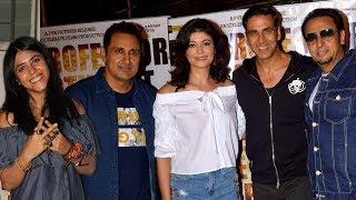 Akshay Kumar at Ex Girlfriend Pooja Batra's Film 'Mirror Game   Ab Khel Shuru' Screening