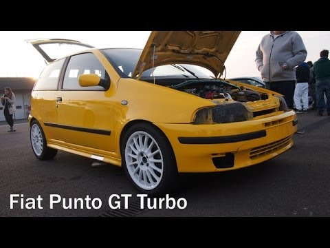 fiat punto gt turbo powerful engine and bonalume pop off on track and engine check rev youtube. Black Bedroom Furniture Sets. Home Design Ideas