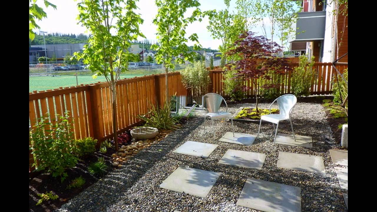 Best gravel garden designs - YouTube on Backyard Pebbles Design id=93667