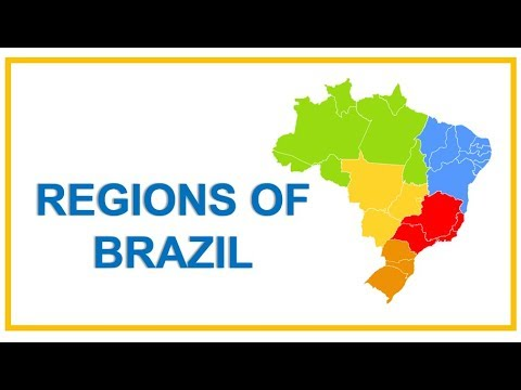 🌞Regions Of Brazil: States, Capitals, Data And Statistics | #BrazilWithRicardo