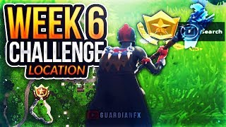 """Fortnite Season 5 Week 6 - """"SEARCH WHERE THE STONE HEADS ARE LOOKING"""" Challenge LOCATION!"""