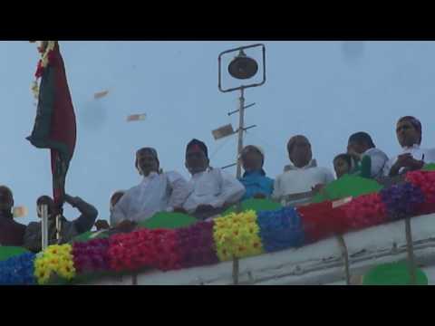 Ajmer Khwaja sharif urs 804 - 2016   flag ceremony