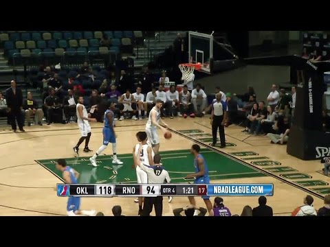 Oklahoma City Blue with 24 3-pointers against the Bighorns