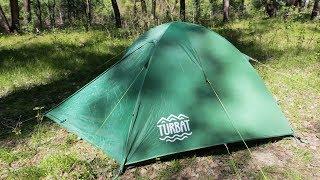 Обзор палатки TURBAT RUNA 3 mp4