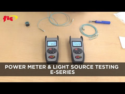 Power Meter & Light Source Testing