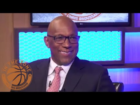'In the Zone' with Chris Broussard Podcast: Clyde Drexler - Episode 52   FS1