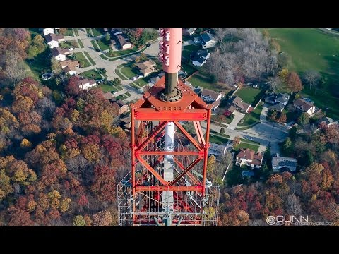 Tower Inspection With a Drone