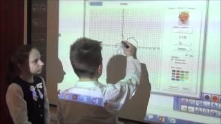 Метод координат. Урок по информатике в 5 классе