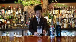 Cocktail making movie【 MARTINI 】 マティーニ! Japanese style☆