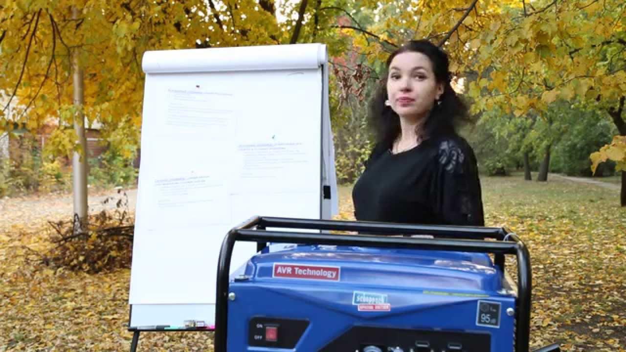 Бензиновый генератор БИЗОН ГБ-2700 - YouTube