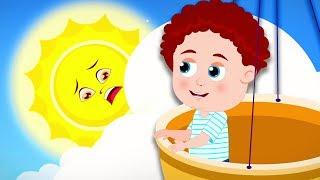 Hello Mr  Sun | Schoolies Cartoons | Nursery Rhymes And Songs Video For Kids