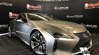 2018 Lexus LC 500 Performance Package Review