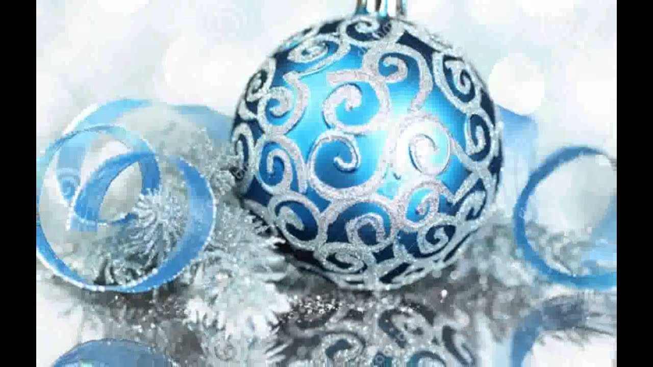 blue christmas tree ornaments images - Blue Christmas Tree Ornaments
