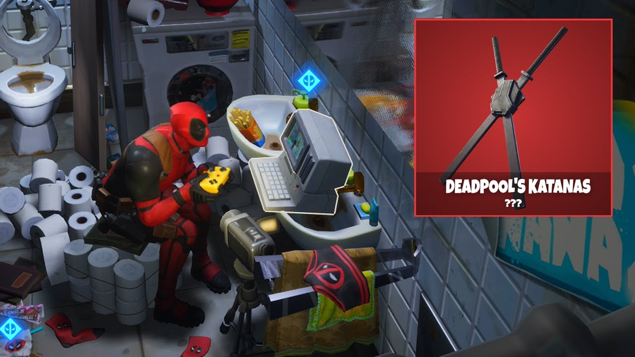 HOW TO UNLOCK the NEW DEADPOOL REWARD in FORTNITE...