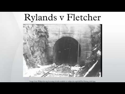 rylands v fletcher Rylands v fletcher restricted further - volume 72 issue 1 - stelios  tofaris.