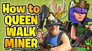 "HOW TO USE QW MINERS TO GAIN HUGE LOOT! - Free to Play TH10 - ""Clash of Clans"""