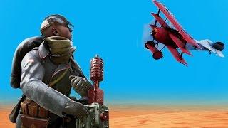 Accidental Win - Mortar vs Aircraft!
