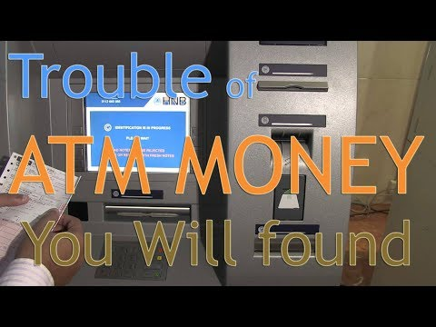 Trouble of ATM Money You Will found, How to get Troubled money of ATM, Now get money easily.
