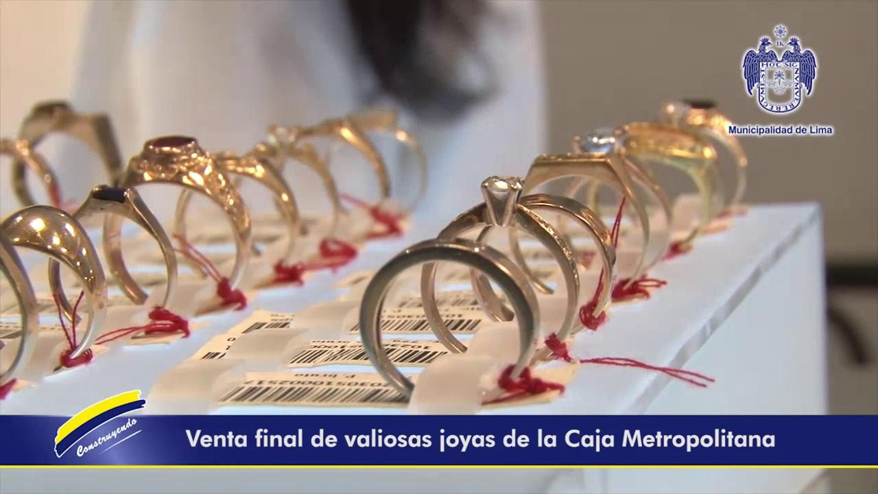 7f7aeccfef91 Liquidación Total de Joyas de Oro de Caja Metropolitana - YouTube