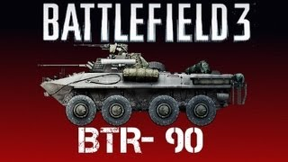 Can BF3 truly be BATTLEFIELD without Vehicles? [BF3 BTR-90 PC Gameplay]
