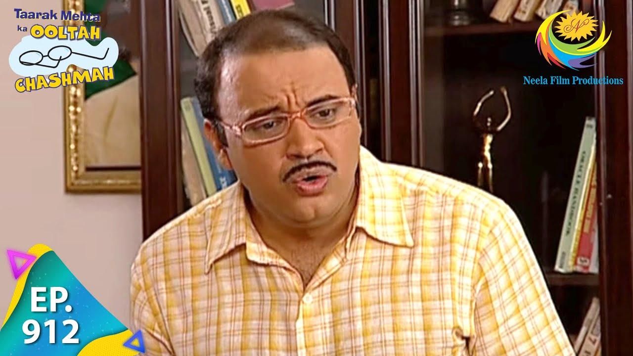 Download Taarak Mehta Ka Ooltah Chashmah - Episode 912 - Full Episode