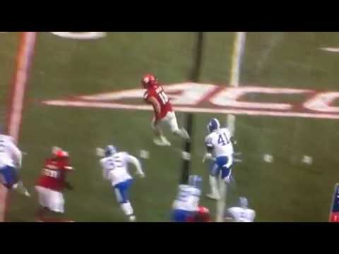 Cole Hikutini Grab Touchdown Louisville vs Kentucky
