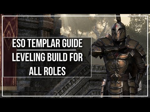 ESO Templar Leveling Build (All Roles)