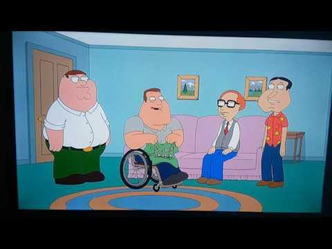 Family Guy Joe's laugh