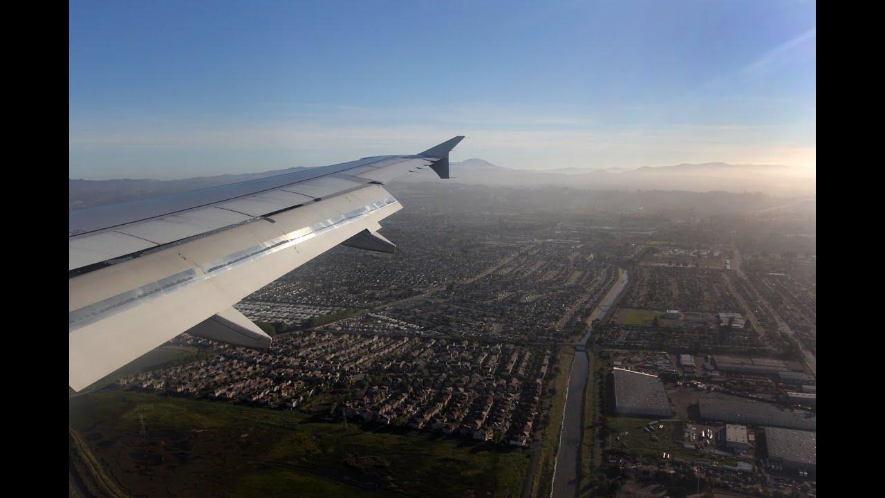 jetBlue Flight B6 242 (LGB-OAK) Landing in Oakland (N729JB)