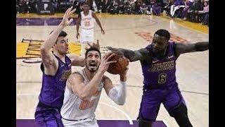 Los Angeles Lakers vs New York Knicks NBA Full Highlights (5th January 2019)