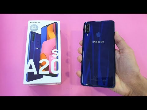 Samsung Galaxy A20s - Unboxing & First Look!