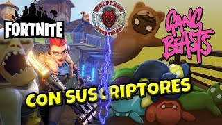 🔴 FORTNITE SAVE THE WORLD AND GANG BEASTS WITH SUBSCRIBERS