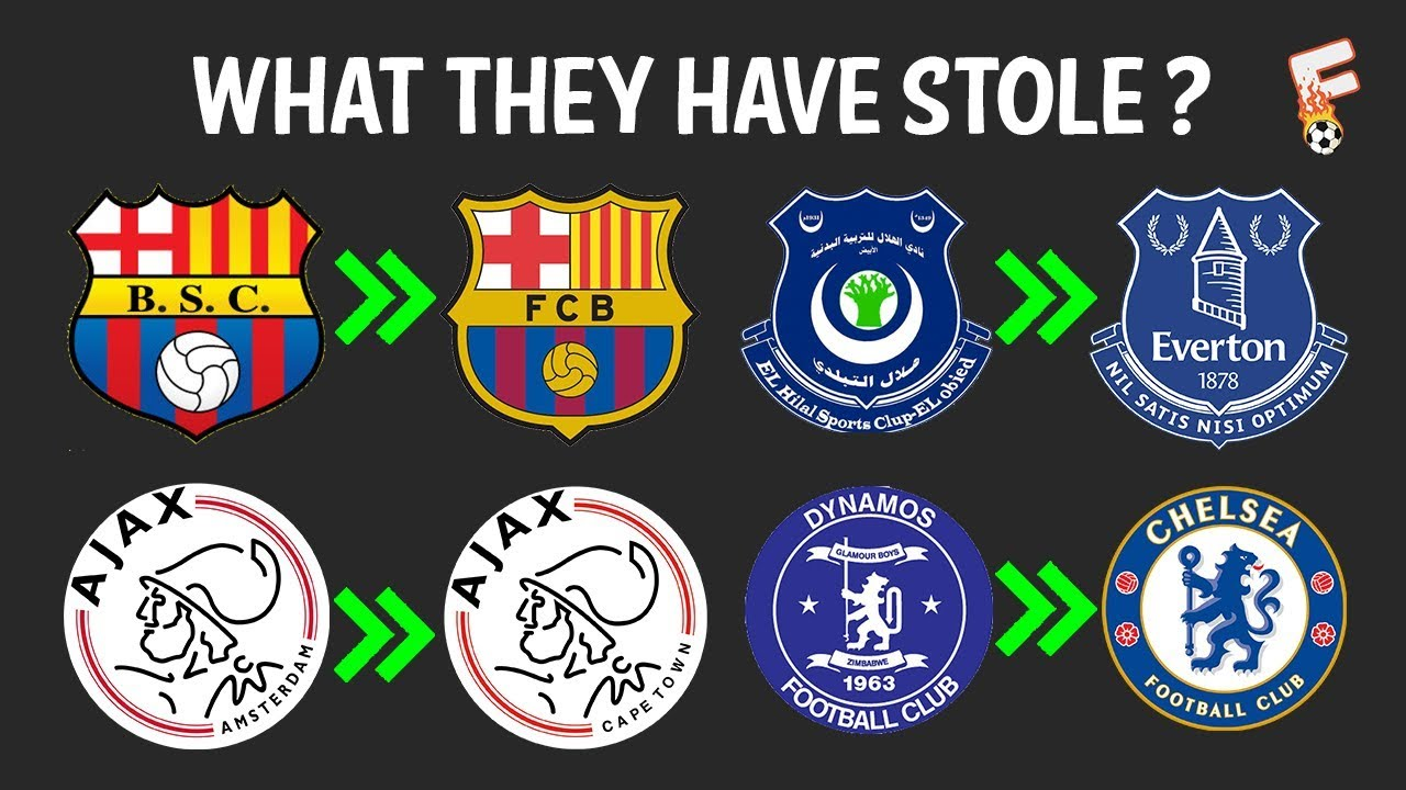 THE MOST FAMOUS STOLEN BADGES OR BAGDE LOOK A LIKE ? - BADGES IN FOOTBALL  HISTORY - FOOTCHAMPION