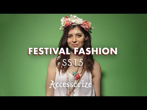 SS15 Festival Fashion | Flower Power | Accessorize