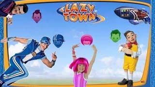 ZIGGY LAZY TOWN CHALLENGE: Stingy - Robbie - Sportacus - Stephanie